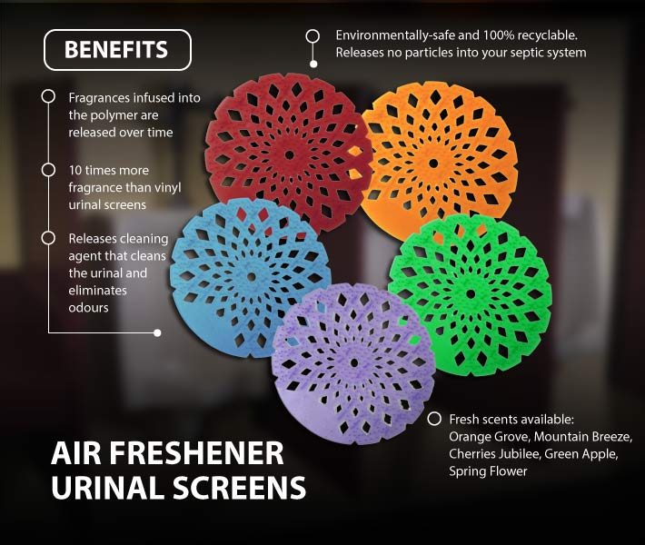 Air Freshener Urinal Screens
