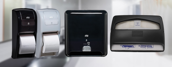 Images of all washroom product dispensers